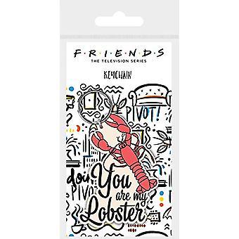 Friends PVC Keyring Lobster