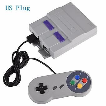 Classic mini edition console entertainment system compatible with for super nintendo games retro handheld mini video game consol