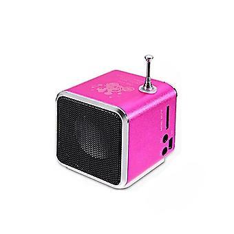 Mini Td-v26 Digital Fm Radio Speaker