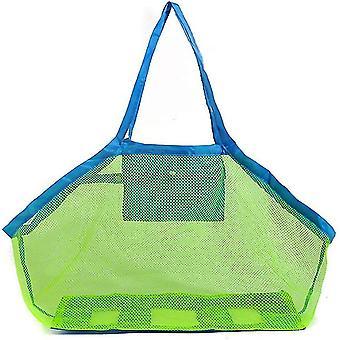 Nuova borsa per lo stoccaggio di giochi da spiaggia per bambini in rete leggera