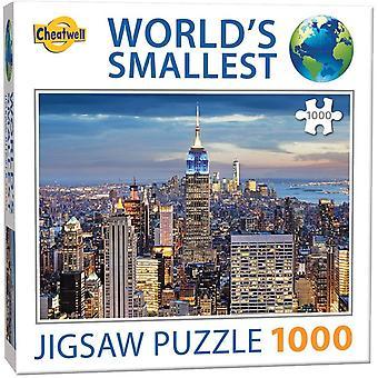 Kleinstes Puzzle der Welt - New York (1000 Teile)