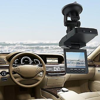 "2.5 ""270 Grados Lcd Hd Dvr Cámara de coche 6 Led Ir Tráfico Grabadora de vídeo digital"