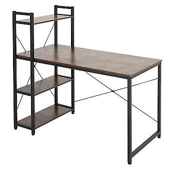Moderner Computertisch Home Office Schreibtisch Schreibtisch Schreibtisch Tisch mit Bücherregal