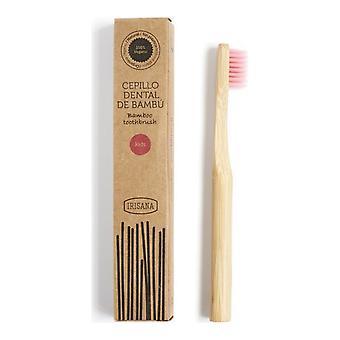 فرشاة الأسنان إيريانا كيدز الوردي القابلة للتحلل الحيوي