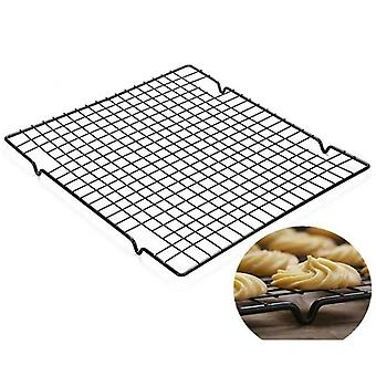 2Pcs 10-by-16-inch Nonstick Wire Cookie Cooling Rack for Baking Oven Safe Steel