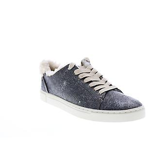 Frye Adult Womens Ivy Shearling Low Lace Lifestyle Sneakers