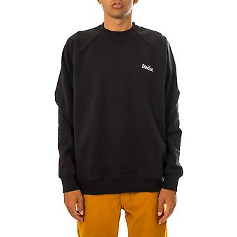 Felpa uomo dickies bettles sweatshirt black dk0a4xfqblk