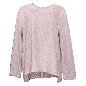 Soft & Cozy Women's Long Sleeve Pajama Top Pink 662992