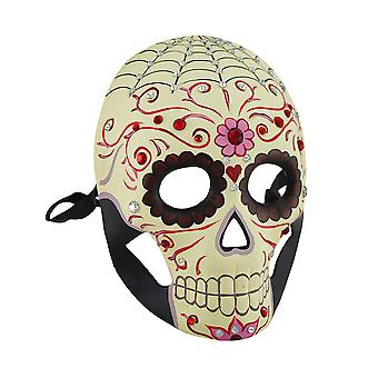 Jeweled Day Of The Dead Skull Fantasy Masquerade Costume Mask