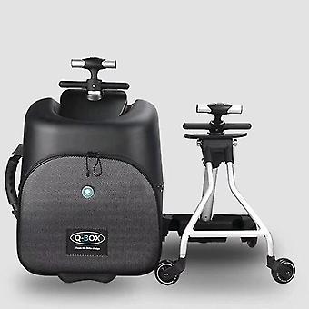 Travel Tale Scooter Walizka Leniwy Carry On Rolling Luggage Ride na torbie na wózku