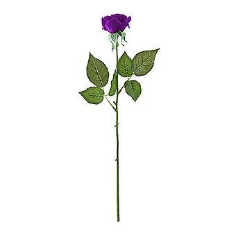 5 kpl keinotekoinen silkki kukka fake ruusu kimppu pöytä sisustus violetti
