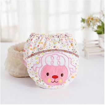1pcsかわいい赤ちゃんのおむつ再利用可能なナッピー布おむつ洗える幼児の赤ちゃん