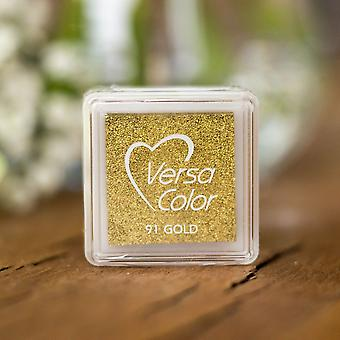 Versasmall Gold Pigment Small Ink Pad - Pigment Ink - Craft Ink