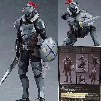 Qian Goblin Slayer Aventurero Cazador Figura móvil en caja