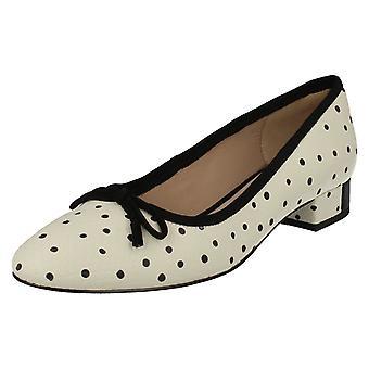 Ladies Clarks Low Heel Smart Slip On Shoes Eliberry Isla