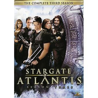 Stargate Atlantis: Season 3 [DVD] USA import