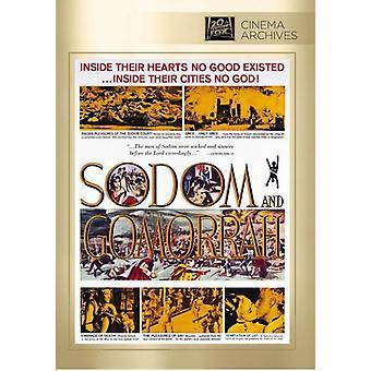 Sodom & Gomorra [DVD] USA import