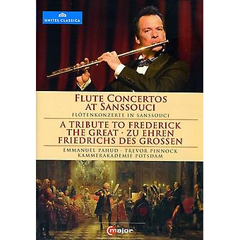 Tribute to Frederic the Great: Flute Concertos at [DVD] USA import