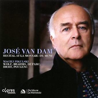 Jose Van Dam - Jose Van Dam Recital at La Monnaie / De Munt, 1997 [CD] USA import