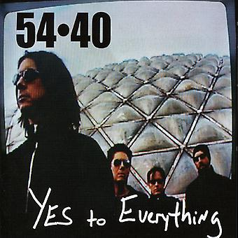 54-40 - Yes to Everything [CD] USA import