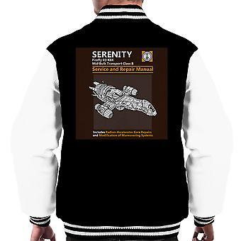 Sereniteit Service en reparatie handleiding Firefly mannen Varsity Jacket