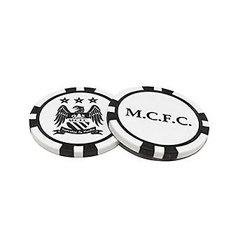 Manchester City Poker Chip Ball Markers