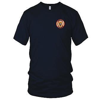CCC Recon RT ALABAMA - US Army MACV-SOG Special Forces - hvid Vietnamkrigen broderet Patch - Herre T-shirt
