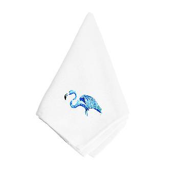 Carolines Schätze 8873NAP Blue Flamingo Serviette