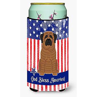 Patriottische USA Mastiff gestroomde hoog Boy drank isolator Hugger