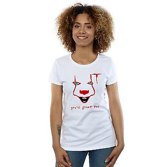 Det kvinnors Pennywise Float T-Shirt