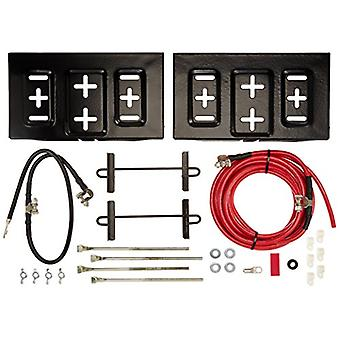 Taylor Cable 48500 Side-By-Side Dual Mount Battery Relocator Kit
