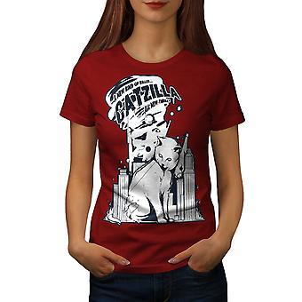 Quote City Funy Funy Women RedT-shirt | Wellcoda