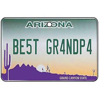 Arizona - bedste bedstefar licens plade bil luftfriskere