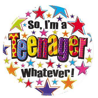 Simon Elvin So Im A Teenager Giant Badge