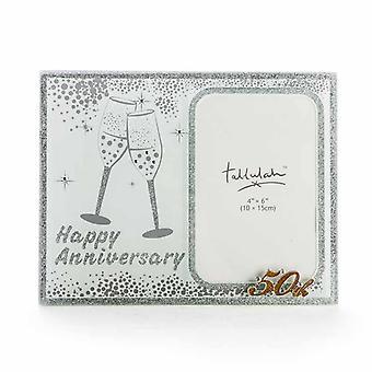 50th Sparkle Anniversary Frame