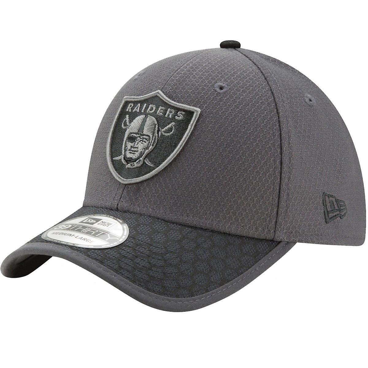 NFL 2017 SIDELINE Oakland Raiders New Era 39Thirty Cap