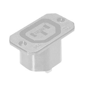 IEC connector 796 Series (mains connectors) 796 Socket, vertical vertical Total number of pins: 2 + PE 10 A Grey Kaiser 796/ws 1 pc(s)