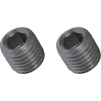 La TOOLCRAFT 890265 Grub vite M3 3 mm in acciaio 20/PC
