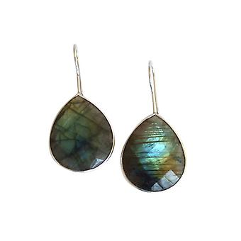 Labradorite earring 925 Silver chandeliers Silver earrings gemstone earrings