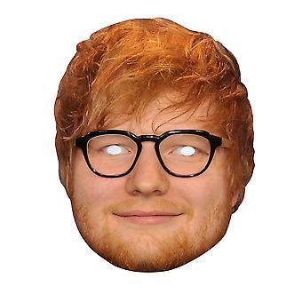 Ed Sheeran 2D Single Card Party Fancy Dress Mask