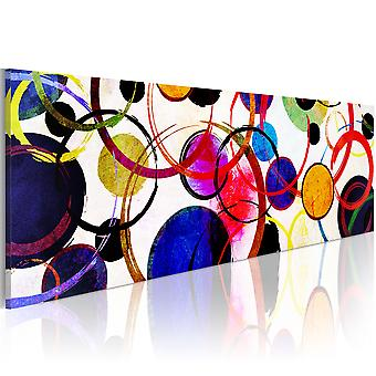 Canvas Print - Rainbow Circles