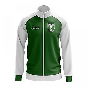 Norfolk saaret käsite jalkapallo Track Jacket (vihreä)
