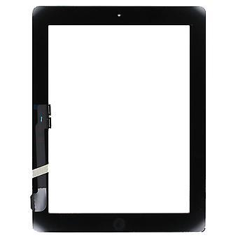 For iPad 4 - Digitizer Assembly - Black - Premium Quality