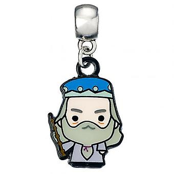 Harry Potter Silver Plated Charm Chibi Dumbledore