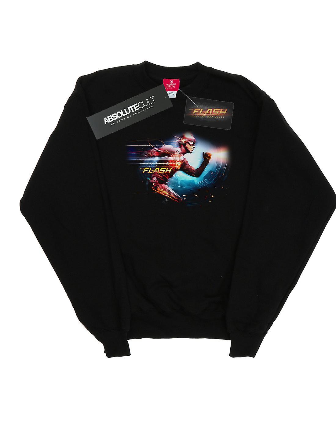 DC Comics Men's The Flash Sparks Sweatshirt