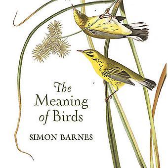 La signification des oiseaux par Simon Barnes - livre 9781784970703