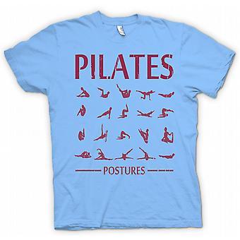 Детские футболки - пилатес позы - Core Фитнес