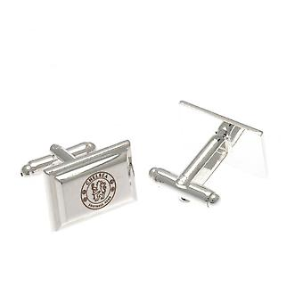 Chelsea FC Silver Plated Cufflinks