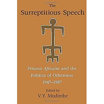 Il discorso occulta: Presenza Africaine e la politica dell'alterità 1947-1987