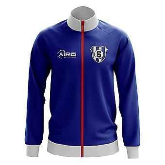 Sampdoria-Konzept Fußball Trainingsjacke (blau)